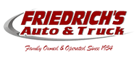 Friedrich's Auto & Truck | Rice, MN | Service, Towing, Collision Center & Sales Logo